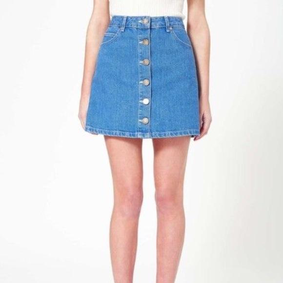 61657f6621 Miss Selfridge Skirts | Nwt Denim Skirt | Poshmark